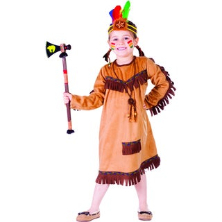 Girl's Brave Indian Costume