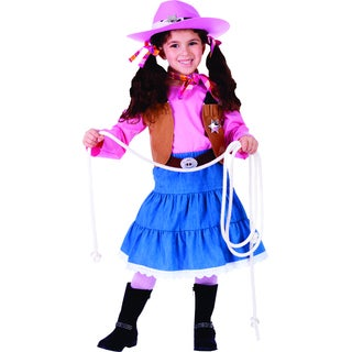Junior Cowgirl Costume (5 options available)