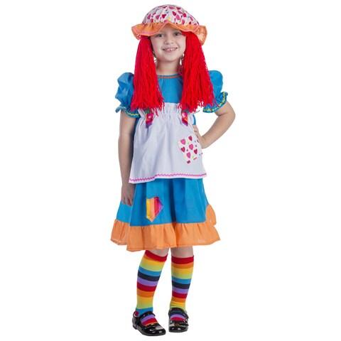 Rainbow Rag Doll Costume