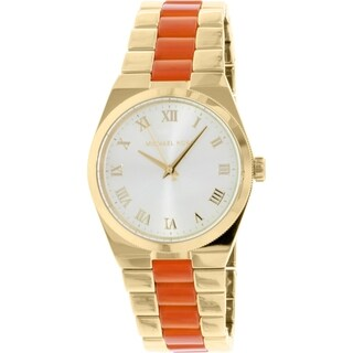 Michael Kors Women's Channing MK6153 Gold Metal Quartz Watch