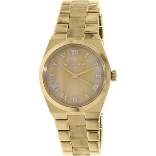 Michael Kors Women's Channing MK6152 Gold Stainless-Steel Quartz Watch