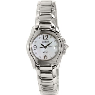 Seiko Women's SXD685 Silver Stainless-Steel Quartz Watch