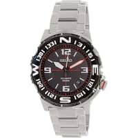 Seiko Men's SRP445 Silver Stainless-Steel Automatic Watch