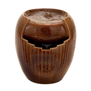 Ceramic 12-inch Decorative Fountain