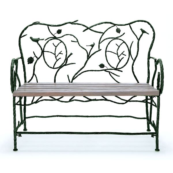 Metal wooden decorative bench free shipping today 17292883 Decorative benches