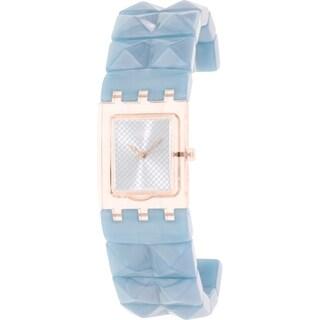 Swatch Women's Originals SUBK157B Blue Plastic Swiss Quartz Watch