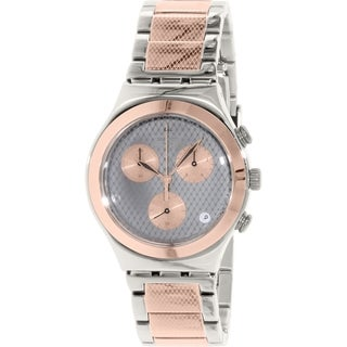 Swatch Women's Irony YCS581G Rose Gold Stainless-Steel Swiss Quartz Watch