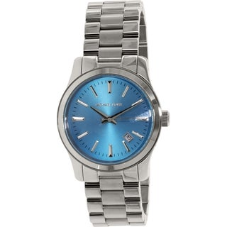 Michael Kors Men's Runway MK5914 Blue Stainless-Steel Quartz Watch