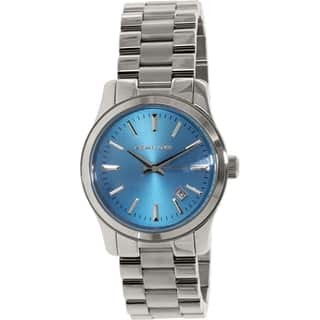 Michael Kors Men's Runway MK5914 Blue Stainless-Steel Quartz Watch|https://ak1.ostkcdn.com/images/products/10164222/P17292778.jpg?impolicy=medium