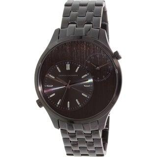 Armani Exchange Men's AX2161 Black Stainless Steel Quartz Watch