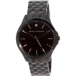 Armani Exchange Men's AX2159 Black Stainless Steel Quartz Watch