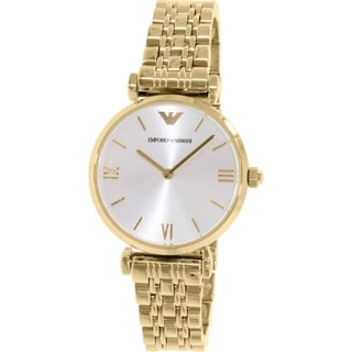 Emporio Armani Women's Gianni AR1877 Goldtone Stainless Steel Quartz Watch