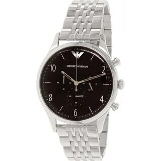 Emporio Armani Men's Classic AR1863 Stainless Steel Quartz Watch