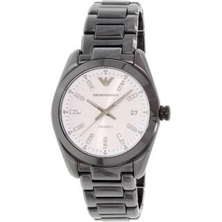 Emporio Armani Women's Ceramica AR1494 Black Ceramic Quartz Watch
