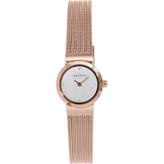 Skagen Women's Mette SKW2132 Rose-goldtone Stainless Steel Quartz Watch