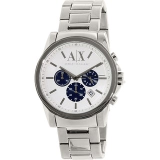 Armani Exchange Men's AX2500 Stainless Steel Quartz Watch
