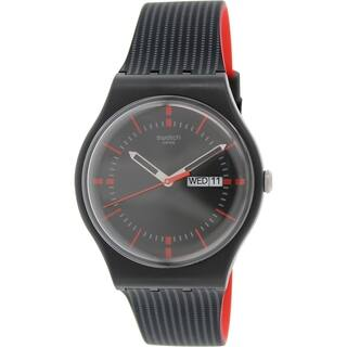 Swatch Men's Originals SUOB714 Black Silicone Swiss Quartz Watch|https://ak1.ostkcdn.com/images/products/10164297/P17292856.jpg?impolicy=medium