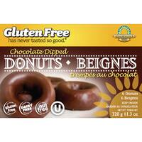 Kinnikinnick Gluten Free Chocolate Dipped Donuts, 11.2 oz. [2 Pack] - brown
