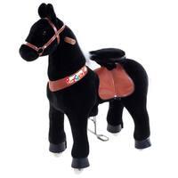 Vroom Rider - PonyCycle Black Ride-on Horse