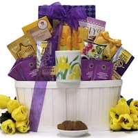 Great Arrivals Zen Blend: Mother's Day Gourmet Coffee & Tea Gift Basket
