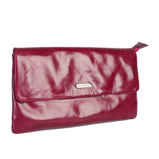 Mllecoco Leather Signature Clutch Handbag
