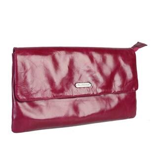 Mllecoco Leather Signature Clutch Handbag - Medium