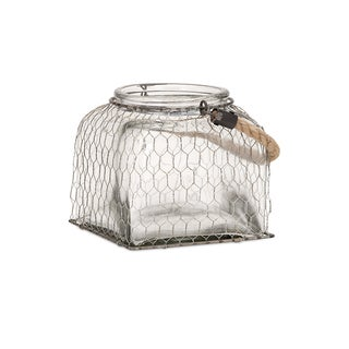Foley Wire Cage Jar - Small