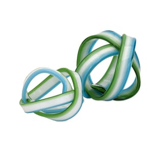 Cambria Glass Knot (Set of 2)
