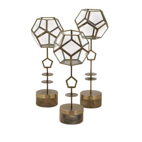 Jada Terrarium Stands (Set of 3)