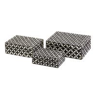 Lizzie Bone Boxes (Set of 3)