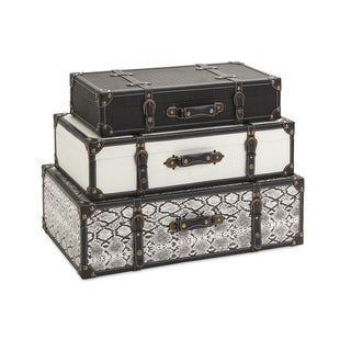 Aberdeen Storage Trunks (Set of 3)