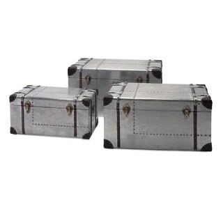 brewer aluminum trunks set of 3 - Wreath Storage Box