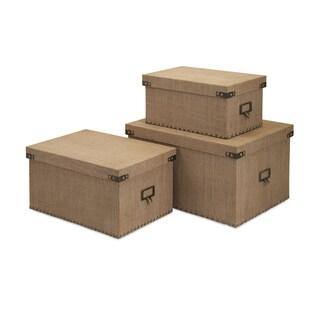 Corbin Storage Boxes (Set of 3)