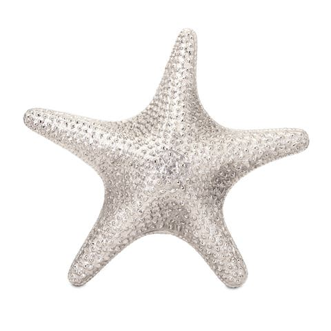 Silver Orchid Compson Aluminum Starfish Wall Mount