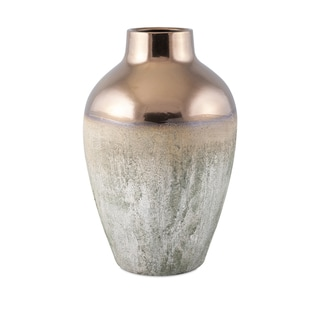 Silver Orchid Fairbanks Large Metallic Top Vase