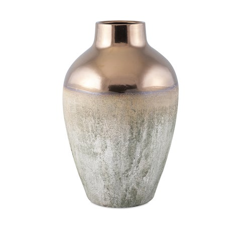 Carbon Loft Bessemer Large Metallic Top Vase