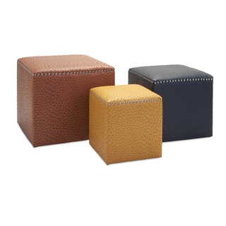 Clark Ottomans (Set of 3)