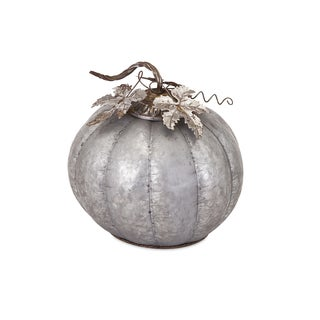 Kellan Galvanized Pumpkin - Medium