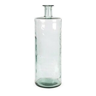 Vettriano Oversized Tall Recycled Glass Vase