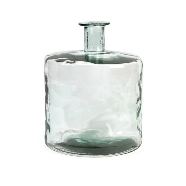 Vettriano Short Recycled Glass Vase