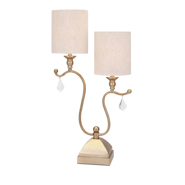 Shop benicia double shade table lamp free shipping today benicia double shade table lamp aloadofball Choice Image