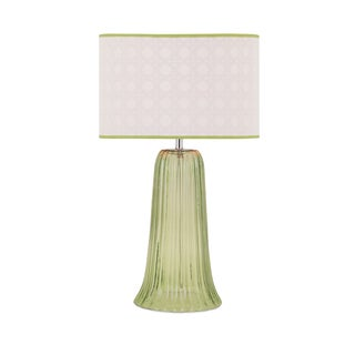 Palm Beach Glass Lamp