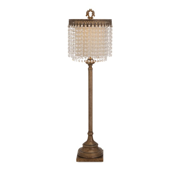 Maeveen Crystal Beaded Table Lamp