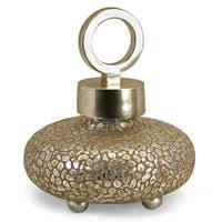 CKI Round Myriad Lidded Vase
