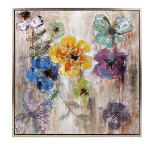 Maizon Floral Framed Oil Painting