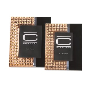 Nikki Chu Stud Photo Frames (Set of 2)
