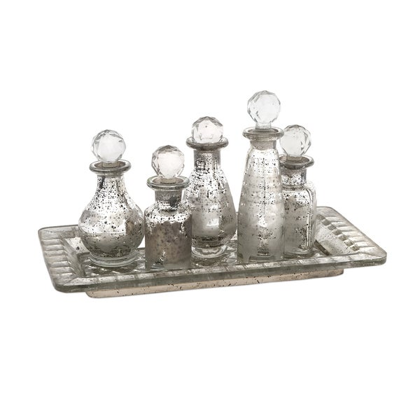 Macaire Mini Bottles w/ Tray (Set of 6)
