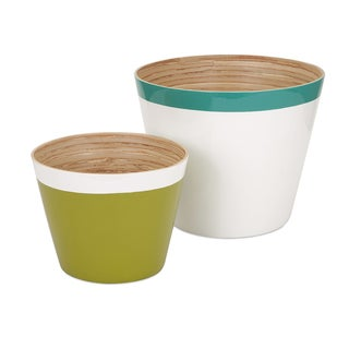 Jamye Bamboo Cachepot (Set of 2)