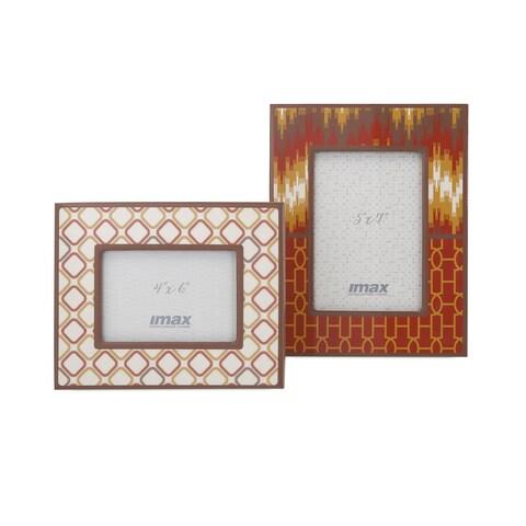 Essentials Energetic Photo Frames (Set of 2)
