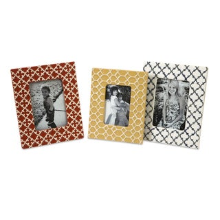 Peters Graphic Photo Frames (Set of 3)